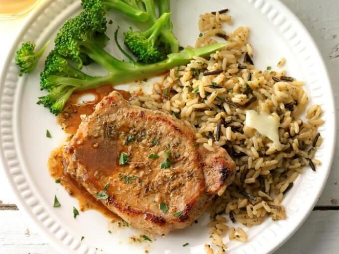 Keto Braised Pork Loin Chops