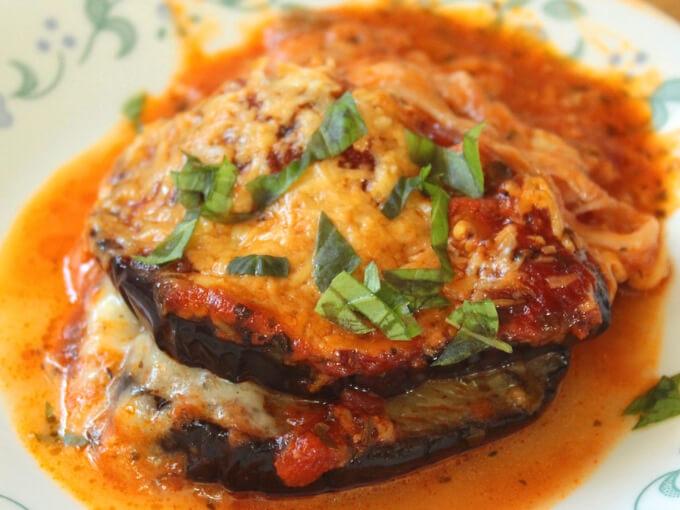 Keto Eggplant Parmesan