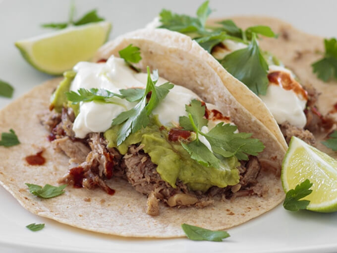 Keto Mexican Pulled Pork Tacos